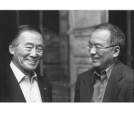 Frank Emi with Frank Abe