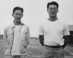 Frank Emi with Kozie Sakai