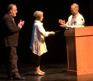 George Takei presents proclamations
