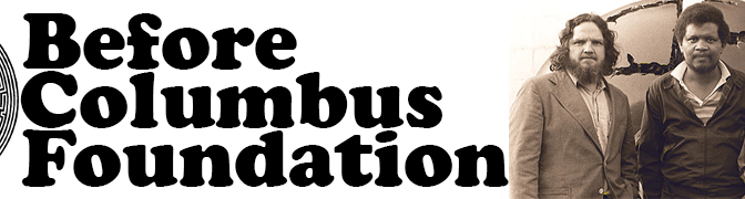 Before Columbus Foundation banner