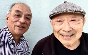 Hiroshi with Frank Abe