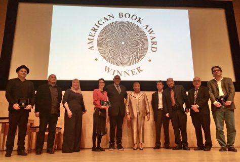 American Book Award recipients onstage