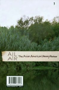 Asian American Literary Review cover