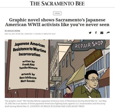 Sacramento Bee feature