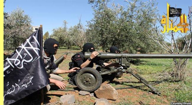Combatentes da Al Nusra.