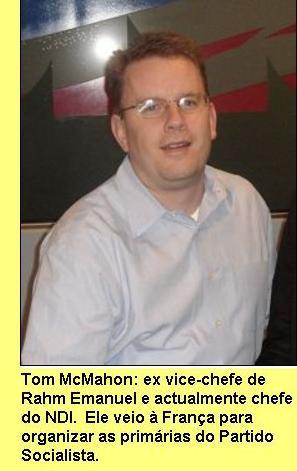 Tom McMahon.