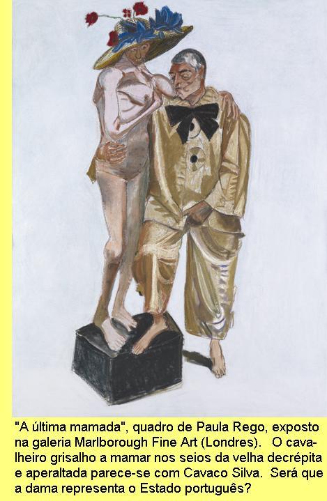'A última mamada', quadro de Paula Rego.