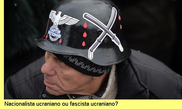 Nacionalista ucraniano ou fascista ucraniano?