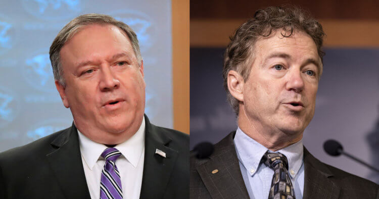 Mike Pompeo and Sen. Rand Paul Issue Warning on Wuhan Lab