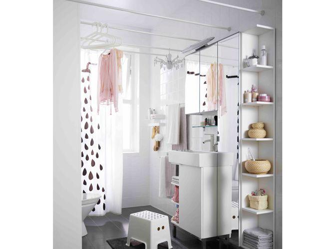 Rangements Ultra Pratiques Pour Une Petite Salle De Bains Elle Decoration