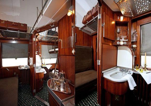 Orient Express Prenez Place Bord Dun Train Art Dco