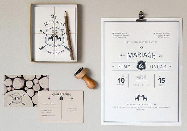 faire part de mariage nos createurs