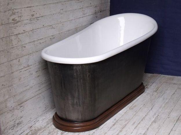 la baignoire en fonte elle decoration