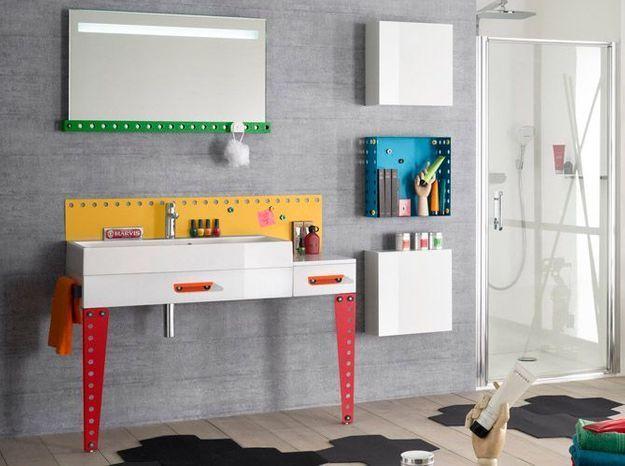 l inspiration du jour des meubles de salle de bains pour enfants