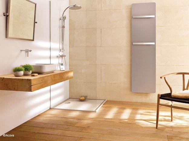 le bois sublime la salle de bains