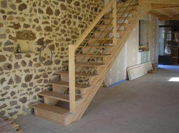 installer un escalier droit elle