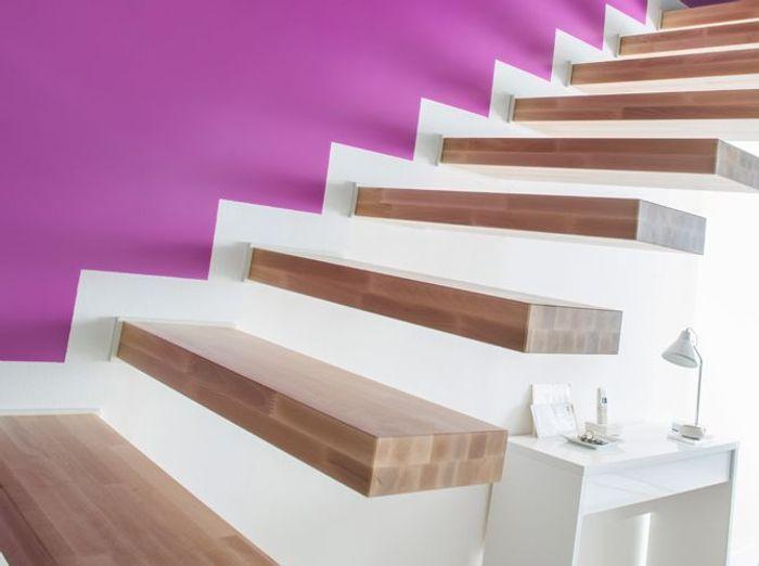 Peinture Montee Escalier Excellent Couleur Peinture