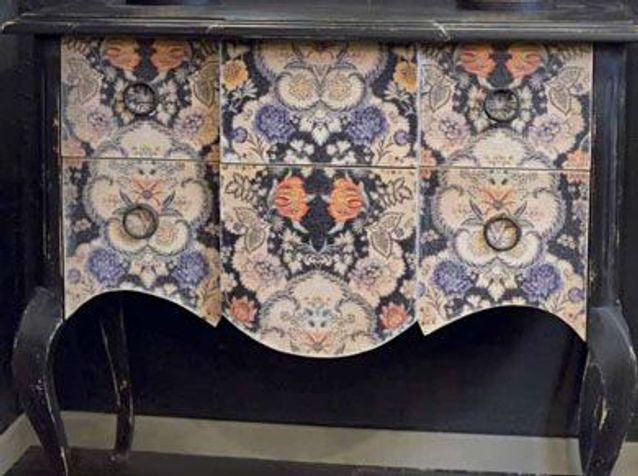 meubles peints un style revisite