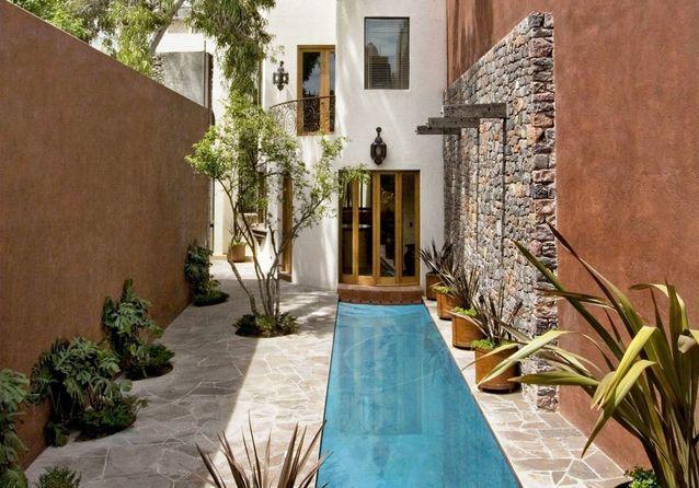 le couloir de nage la super piscine