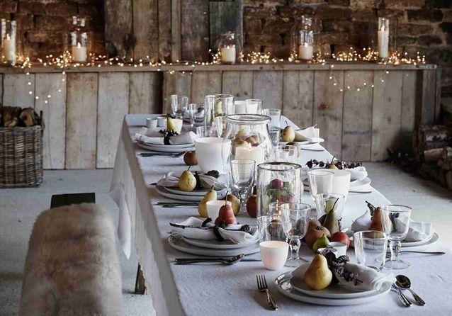 30 idees pour une decoration de table d hiver gagnante