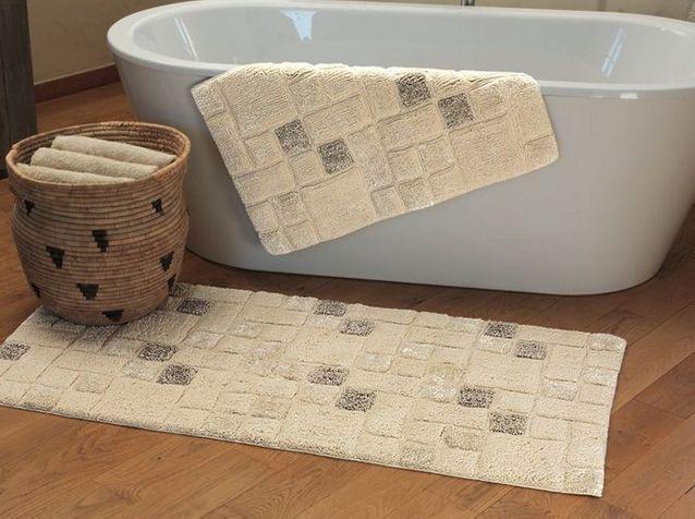 tapis de bain elle decoration