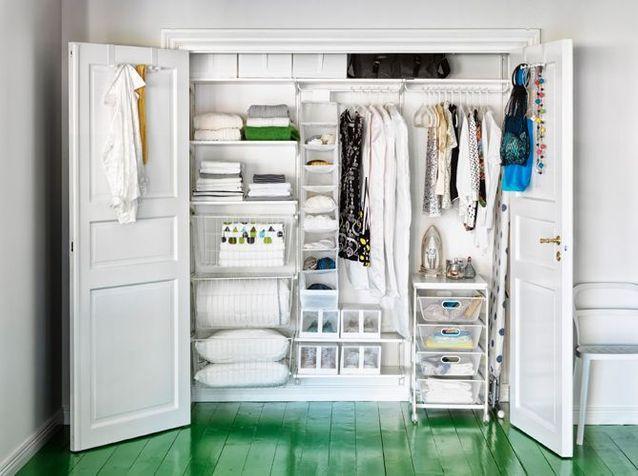 dressings pour un petit appartement