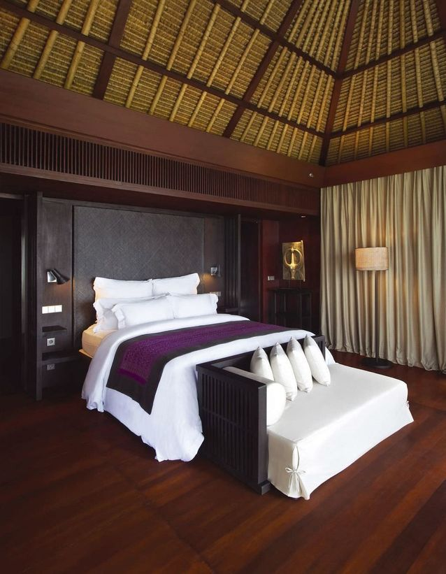 La chambre du Bulgari Hôtel à Bali