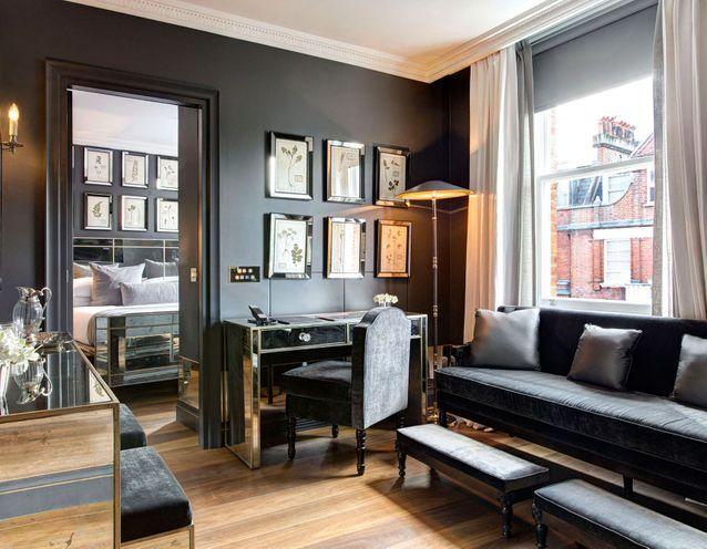 La chambre du Franklin Hôtel à Londres