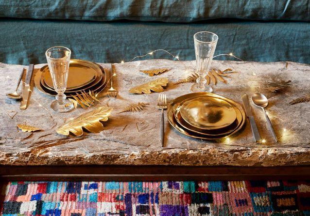 amazing amazing dco de table de nol nos ides dco with deco de table de noel with dco table de nol