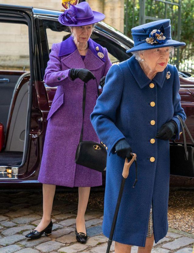 La reine assiste à une cérémonie pour le centenaire de la Royal British Legion à l'Abbaye de Westminster