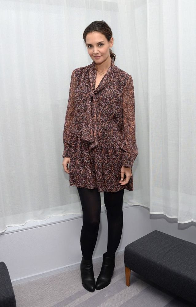 Katie Holmes à New York, en 2015