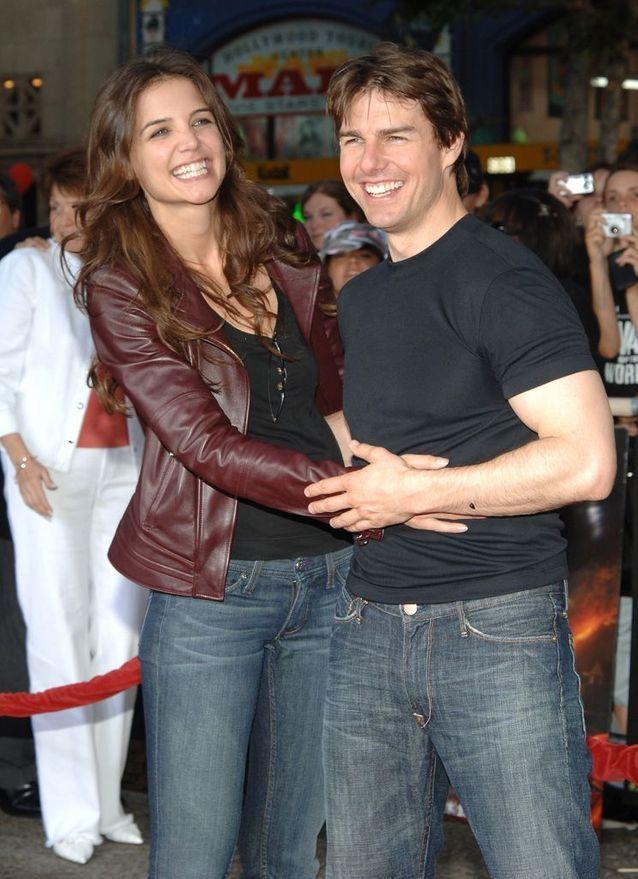 Katie Holmes et Tom Cruise à Los Angeles, en 2005