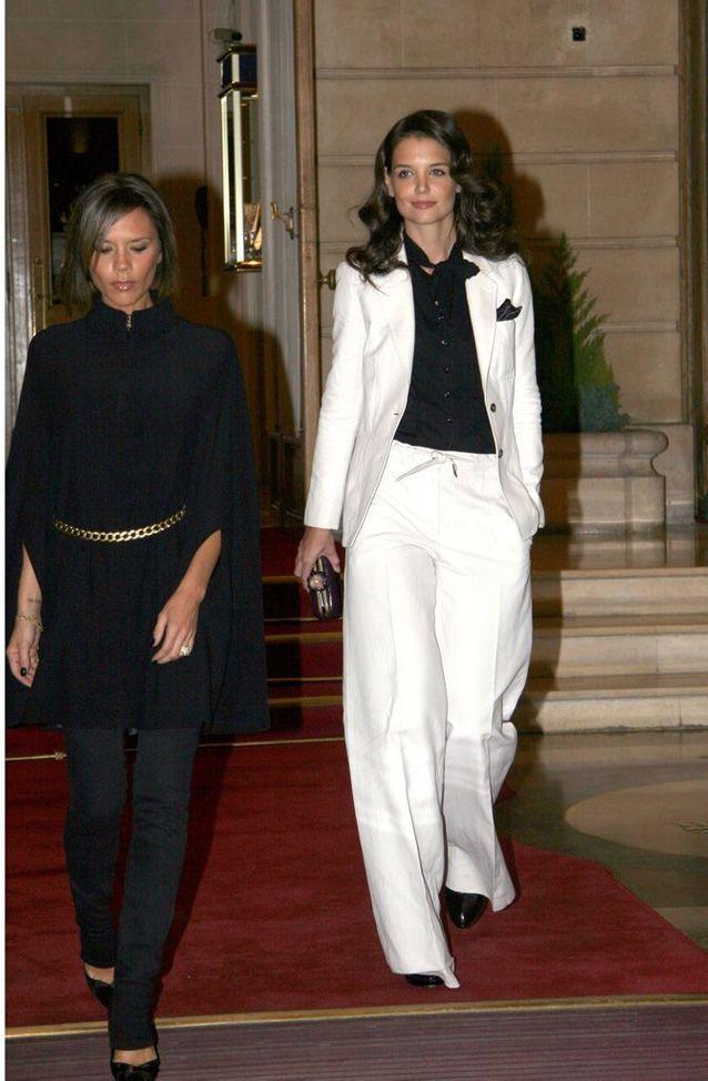 Katie Holmes et Victoria Beckham, en 2006