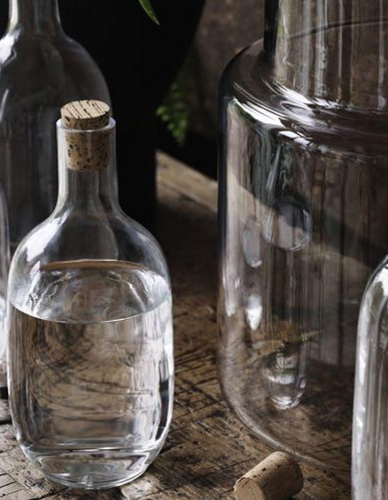 bouteille en verre ikea