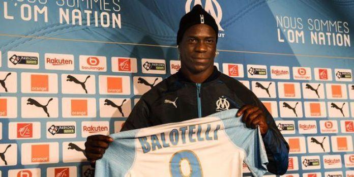 Football: Mario Balotelli rejoint l'Olympique de Marseille