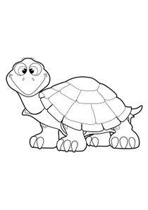 coloriages tortues a imprimer