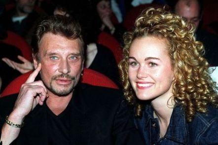Johnny et Laeticia en 1998