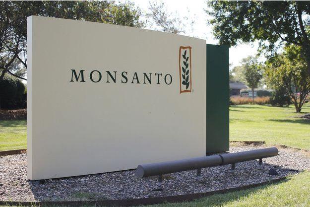 L'entrée du siège de Monsanto, dans le Missouri, Etats-Unis.