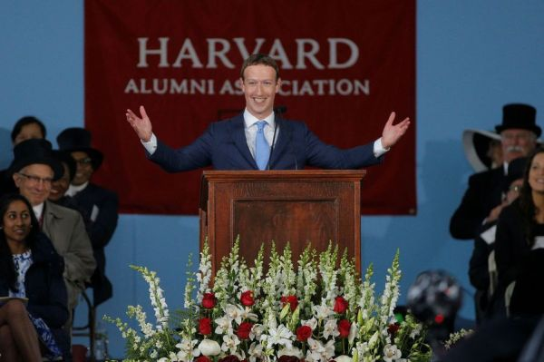 Mark Zuckerberg est enfin diplômé d'Harvard