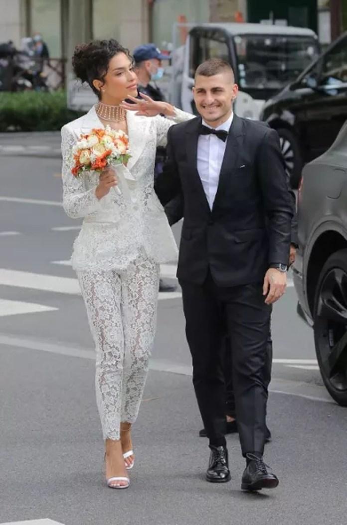 Marco Verrati: les images de son mariage avec le top français Jessica Aïdi