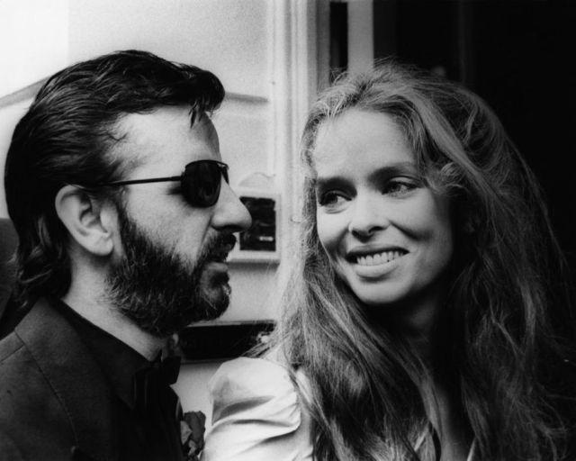 Ringo Starr Barbara Bach Mariage 1981 Photos 10