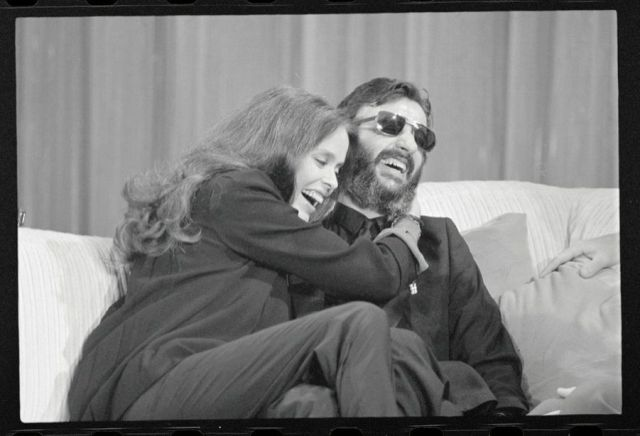 Ringo Starr Barbara Bach Mariage 1981 Photos 8