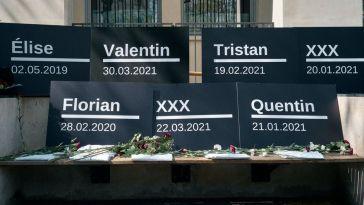 Rassemblement à Paris pour dénoncer des suicides d'internes en médecine