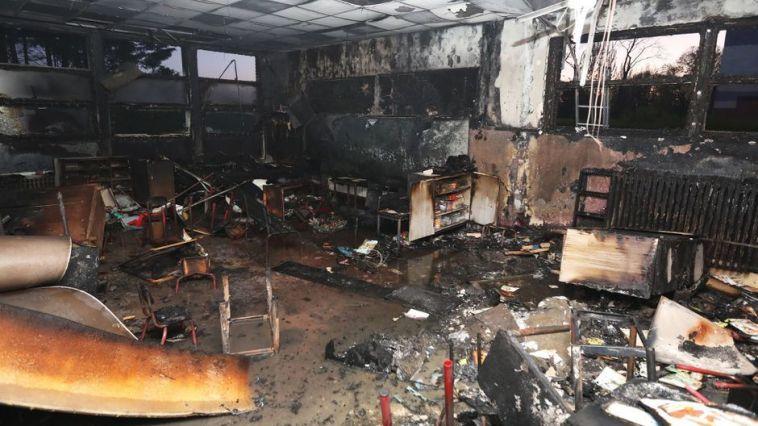 Une école maternelle incendiée à Lille, Aubry dénonce un «acte envers un symbole de la République»