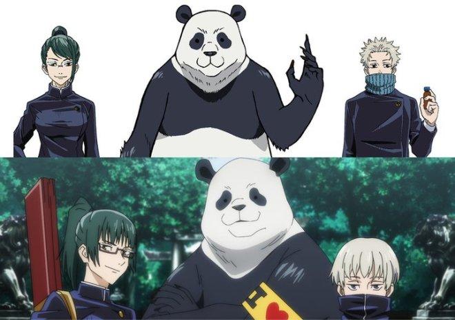 66b31aa7a0e8429690b8cb8742bc9ad1 Jujutsu Kaisen Film Unveils Maki, Toge, and Panda's 1st Year Character Designs!   Tokyo Otaku Mode