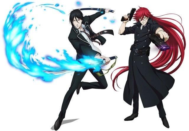 black butler and blue exorcist