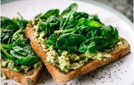 Spinach Toast- India TV Hindi