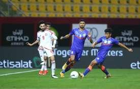 UAE beat India 6–0 in second international friendly football match- India TV Hindi
