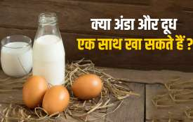 Combination of egg and milk is good for health- India TV Hindi