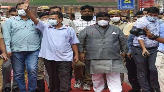 दिल्ली की चांदनी चौक का कायाकल्प, Photos में देखिए 'नया लुक', CM केजरीवाल ने किया उद्घाटन